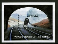 Granada 1982 famosos trenes The 20th Century Ltd estampillada sin montar o nunca montada Umm