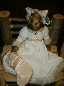 "NWT Bearington Bear Lady Flurry 17"" Plush (Style #1741)"
