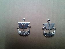 Drachenboot,Wikingerschiff,keltisch,germanisch,Wikinger, Anhänger, Amulett, NEU