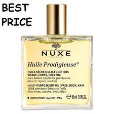 NUXE HUILE PRODIGIEUSE MULTIPURPOSE DRY OIL FACE/HAIR/BODY SPRAY 50ML BEST PRICE