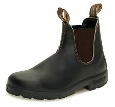 Blundstone Style 500 Australian Chelsea Boots - Stout Brown Leather - Unisex