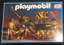 Playmobil 3653 Knights Catapult Castle Set Magic Complete New Sealed Boxed