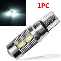 1PC T10 White 194 W5W 5630 LED 10 SMD CANBUS ERROR FREE Car Side Wedge Light