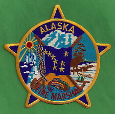 ALASKA STATE FIRE MARSHAL PATCH