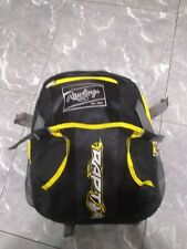 Rawlings Kids Raptor Backpack Yellow/Black