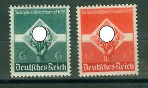 Deutsches Reich 571 - 572 , ** , * , o , - Reichsberufswettkampf