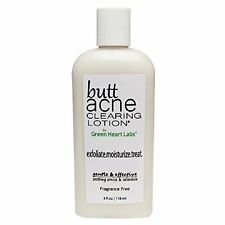 Butt Acne Clearing Lotion Works Fast to Soften & Clear Sulphate Free - 4 fl oz