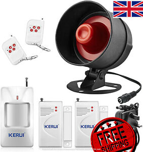 The Newest KERUI Standalone Home Shop Security Alarm Garage Alarm Shed Alarm