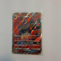 Pokemon TCG - SM38 Incineroar GX M - Sun & Moon Promo Black Star - Full Art Holo