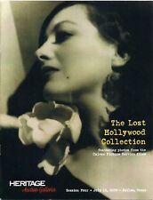 THE LOST HOLLYWOOD COLLECTION 2006 JOAN CRAWFORD AUCTION CATALOGUE