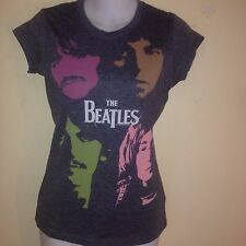 THE BEATLES WHITE ALBUM FACES LADIES SMALL  T-SHIRT OUT OF PRINT CLASSIC ROCK