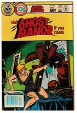 GHOST MANOR #66 (NM-) High Grade Bronze-Age Charlton Horror Comic 1982