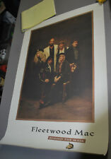 """Fleetwood Mac 1990 """"behind the Mask"""" promotional poster"""