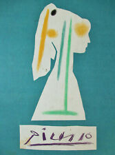 PICASSO - BACK COVER (ONLY) VERVE 29 - 30  - 1954 - FREE SHIP IN US !