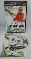 FIFA 2002 Video Game for Sony PlayStation 2 PS2 PAL TESTED