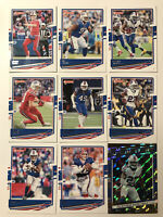 2020 Donruss Football Buffalo Bills (9) Base Card Lot Josh Allen