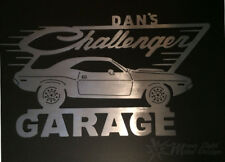 Dodge Challenger Metal Garage Sign Personalized and Custom 69, 70, 71 - 2