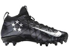 Nike Field General 3 TD American Football Cleats Boots Black Camo UK 7 US 8