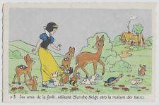 Carte Postale - WALT DISNEY - Edition Superluxe Paris  Blanche Neige  N°3