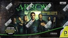 2015 Cryptozoic DC Arrow TV Season 2 New Sealed Trading Cards Hobby Box 24 Packs