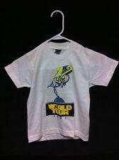 Rare NOS 1987 GT WORLD TOUR T-SHIRT Old School BMX Pro Performer Freestyle Dyno