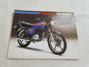KAWASAKI KH125-L1 Motorcycle Sales Leaflet c1984 #99943-1401-01 UK-E III-II
