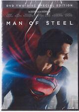 MAN OF STEEL (DVD, 2015, 2-Disc Set) NEW