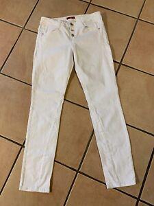 S. Oliver Smart Slim Damen Jeans Gr. 40 weiß
