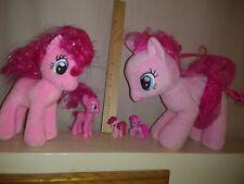 "My Little Pony Pinkie Pie LOT. Plush Purse 10"" blind Bag Toy Hasbro figurines"