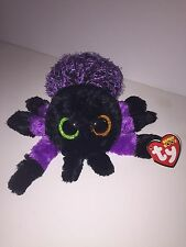 """TY CREEPER SPIDER 6"""" LONG BEANIE BOOS-NEW, MINT TAG*SUPER SOFT & CUTE**IN HAND*"""