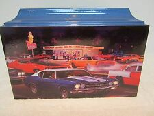201 Classic Muscle Car Theme Adult Cremation Urn - FREE plate