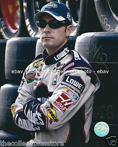 JIMMIE JOHNSON LOWES HENDRICK MOTORSPORTS NASCAR NEXTEL CUP 8 X 10 PHOTO #02
