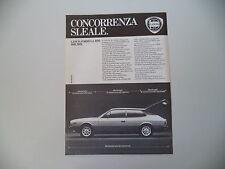 advertising Pubblicità 1979 LANCIA FORMULA HPE