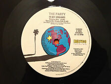 "THE PARTY - In My Dreams - 1991 US Import 12"" - RARE VINYL 4 mixes - NMINT+"
