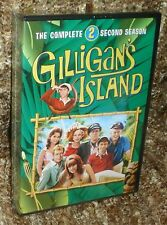 GILLIGAN'S ISLAND THE COMPLETE SECOND SEASON DVD BOX SET, NEW AND SEALED, RARE