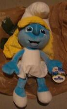 "Smurfs smurfette plush figure 21"" inch figure movie new with tags large"