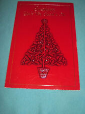 """New Beautiful Vintage """"Sweetheart You're Very Special to Me"""" Christmas Card"""