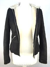 Zara Kunstpelz Jacke mit Kapuze Größe s Ref 7901 219