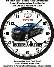 TOYOTA TACOMA X-RUNNER WALL CLOCK-CHOOSE 1 OF 2