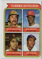 1974 Topps #598 Ken Griffey EX-EXMINT ROOKIE RC Cincinnati Reds FREE SHIPPING