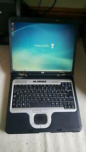 "HP Compaq nc8000 Laptop Notebook 15"" 1GB 40GB Windows 7 Office Wi-Fi Serial"