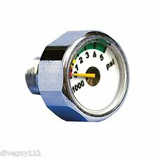PSI Pony Bottle Gauge For Scuba Diving Regulator A232psi