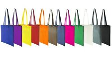 Plain Cotton Reusable Eco Friendly Tote Bags Bag for life SELECT COLOUR