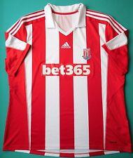 4.7/5 Stoke City 2012~2013 HOME ADIDAS ORIGINAL SOCCER JERSEY SHIRT