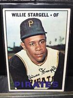 1967 Topps Baseball #140 Willie Stargell Pittsburgh Pirates Centered