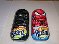 MIGHTY BEANZ DARTH VADER & SPIDERMAN CASE + 11 MIGHTY BEANZ STAR WARS MARVEL