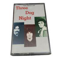 The Best Of Three Dog Night Cassette Tape