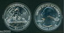 2011 VICKSBURG Mississippi 5 Oz. SILVER ATB BULLION COIN AMERICA THE BEAUTIFUL