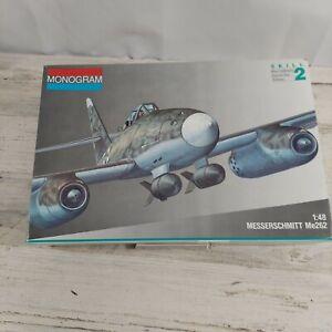 Monogram Messerschmitt Me262 Scale 1/48 Model Kit 1991 New-Open Box