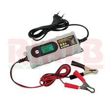 Amperomatic Digit Carica Batteria Moto Piombo Lampa - 6/12V - 0,8/4,2A - 70180